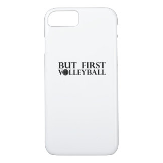 Coque iPhone 7 Mais premier volleyball - volleyball drôle