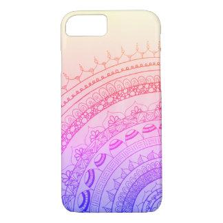 Coque iPhone 7 Mandala de gradient