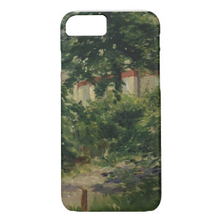 Coque iPhone 7 Manet | un coin du jardin en Rueil, 1882
