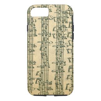 Coque iPhone 7 Manuscrit de Bach Chaconne pour le violon solo
