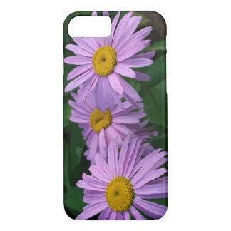 Coque iPhone 7 Marguerites peintes colorées belle par lavande