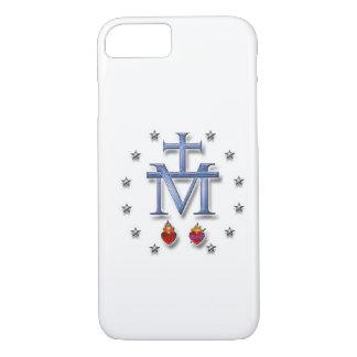 Coque iPhone 7 Médaille miraculeuse