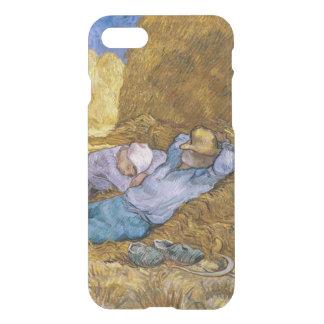 Coque iPhone 7 Midi de Vincent van Gogh  , la sièste, après