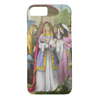 Coque iPhone 7 Moïse a économisé par la fille du pharaon, d'un