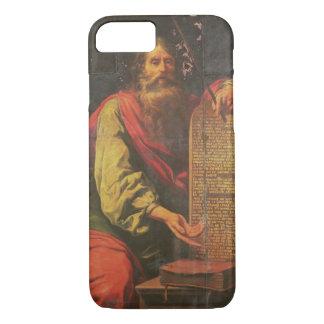 Coque iPhone 7 Moïse et les comprimés de la loi