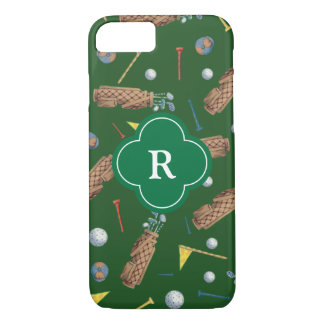 Coque iPhone 7 Monogramme d'équipement de golf