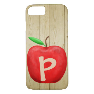 Coque iPhone 7 Monogramme rouge d'Apple