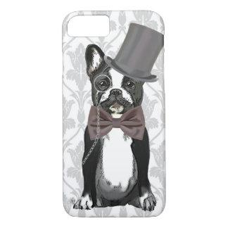 Coque iPhone 7 Monsieur Bulldog