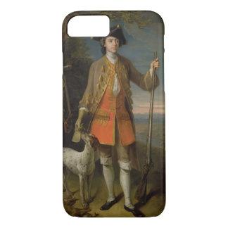Coque iPhone 7 Monsieur Edouard Hales, 1744 (huile sur la toile)