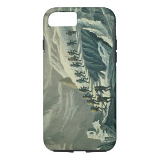 Coque iPhone 7 Montée de M. De Saussure au Summmit de Mont B