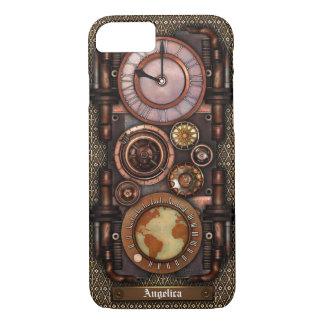 Coque iPhone 7 Montre vintage #1C de Steampunk