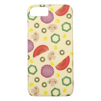 Coque iPhone 7 Motif 2 de pizza