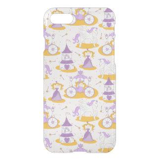 Coque iPhone 7 motif avec une princesse