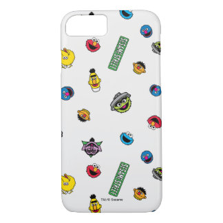 Coque iPhone 7 Motif de caractère de Sesame Street