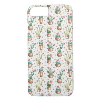 Coque iPhone 7 Motif de fleur d'étape | de fleur de désert