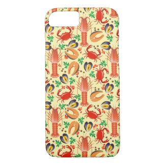 Coque iPhone 7 Motif de fruits de mer