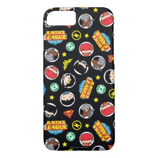 Coque iPhone 7 Motif de héros et de logos de ligue de justice de
