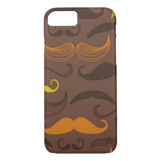 Coque iPhone 7 Motif de moustache, rétro style 5