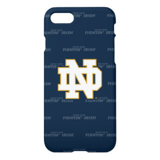 Coque iPhone 7 Motif de répétition de Notre Dame |