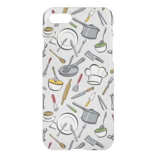 Coque iPhone 7 Motif d'outils de cuisine
