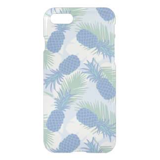 Coque iPhone 7 Motif en pastel tropical d'ananas