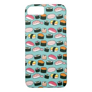 Coque iPhone 7 Motif illustré par amusement délicieux de sushi