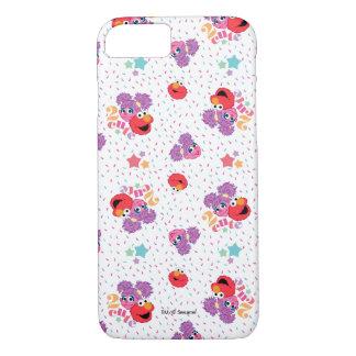 Coque iPhone 7 Motif mignon d'Abby et d'Elmo 2