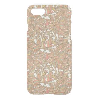 Coque iPhone 7 Motif romantique fait de fleurs de pivoine