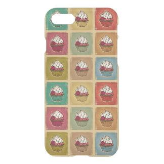 Coque iPhone 7 Motif vintage fait de petits gâteaux
