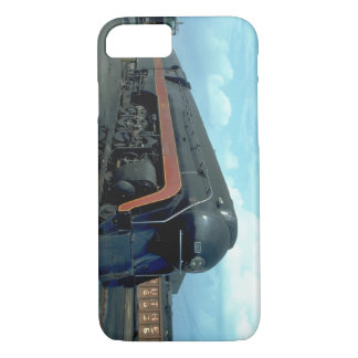 Coque iPhone 7 N&W 4-8-4 #611. (train ; ciel ; nuages ; voie ;)