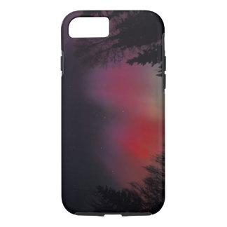 Coque iPhone 7 Na, Etats-Unis, Alaska, Fairbanks. Rideaux de