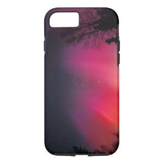 Coque iPhone 7 Na, Etats-Unis, Alaska, Fairbanks, rideaux de rose