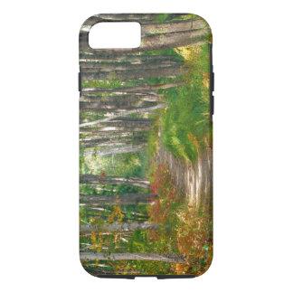 Coque iPhone 7 Na, Etats-Unis, Maine.  Traînée de Jessup dans le