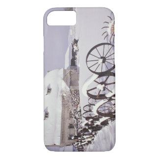 Coque iPhone 7 Na, Etats-Unis, Washington, Uniontown, grange