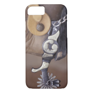 Coque iPhone 7 Na, les Etats-Unis, Texas, botte de cowboy de