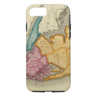 Coque iPhone 7 New York, Queens, rois, comtés de Richmond