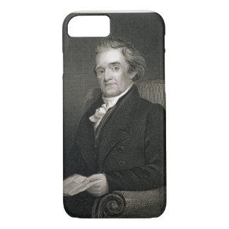 Coque iPhone 7 Noah Webster (1758-1843) gravé par Frederick W.