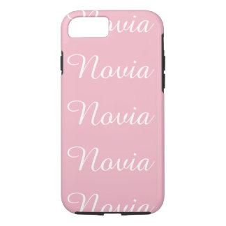 Coque iPhone 7 Novia (jeune mariée/amie)