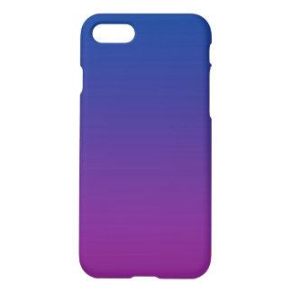 Coque iPhone 7 Ombre bleu-foncé et pourpre