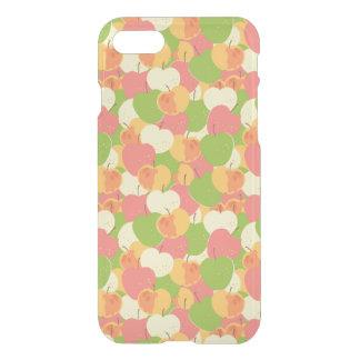 Coque iPhone 7 Ornement avec des pommes