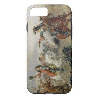 Coque iPhone 7 Oudenaarde - une cavalerie mènent des escarmouches