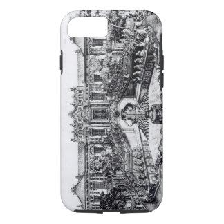 Coque iPhone 7 Palais du calme de la mer et de l'horloge d'eau,