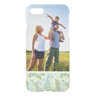 Coque iPhone 7 Palmettes tropicales en pastel de photo faite sur