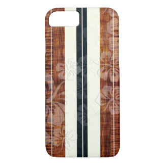 Coque iPhone 7 Panneau de surf de PixDezines/ketmie/Faux Koa