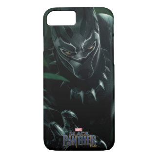 Coque iPhone 7 Panthère noire | dans la jungle