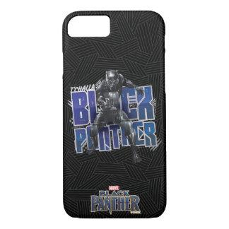 Coque iPhone 7 Panthère noire | T'Challa - graphique de panthère