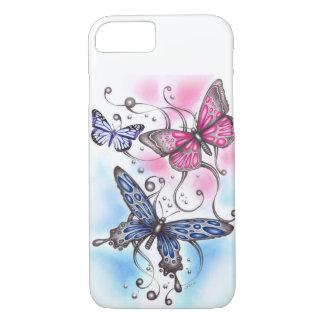 Coque iPhone 7 papillon