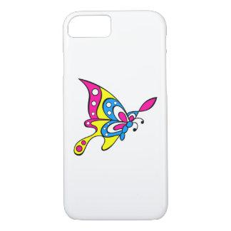 Coque iPhone 7 Papillon mignon