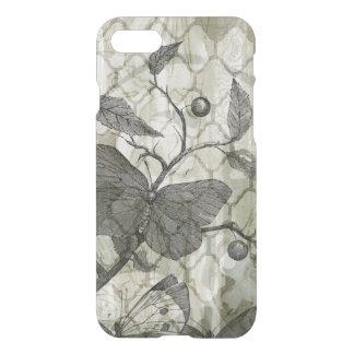Coque iPhone 7 Papillons d'arabesque I