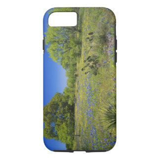 Coque iPhone 7 Pays de colline du Texas, le Texas, bas